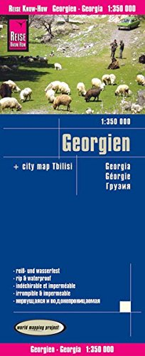 Georgia rkh r/v (r) wp GPS par Reise Know-How Verlag GmbH