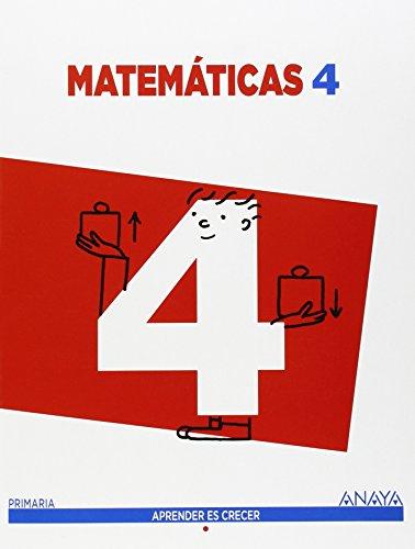 Ep 4 - Matematicas - Apre. Crec. (cataluña, Madrid) por Aa.Vv.