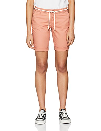 ONLY NOS Damen Onlparis L Long Chi Belt Shorts Pnt Noos, Rosa (Rose Dawn), - Für Kurze Frauen Jean-shorts