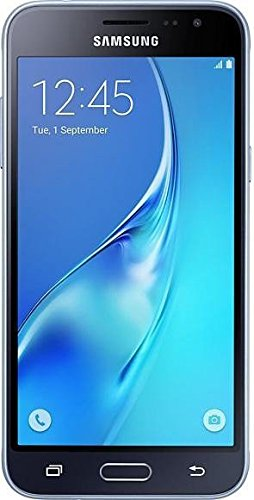 Samsung Galaxy J3 2016 J320FD Smartphone da 8 GB, Dual SIM, Nero [Italia]