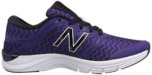 New Balance Wx711cm2, Scarpe da Running Donna Black Plum/Zig Zag Violet Glo Graphic