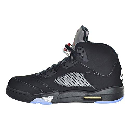 Nike 845035-003, Chaussures de Sport Homme, Noir black/fire red-mtllc slvr-wht