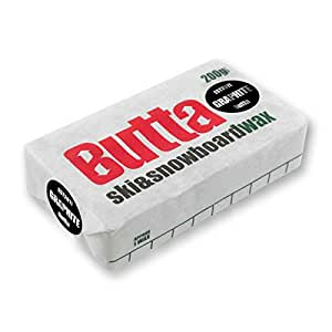 Butta Wax Graphite Ski And Snowboard Snow Wax - Black