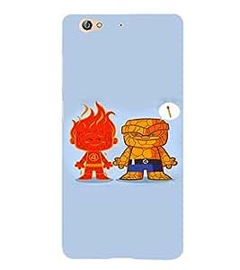 EPICCASE Little Demons Mobile Back Case Cover For Gionee S6 (Designer Case)
