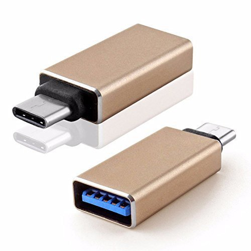 Electomania Metal High-Speed Ultra-thin USB Type-C Male OTG to USB 3.0 Female for smartphones Type-C OTG Supported Device