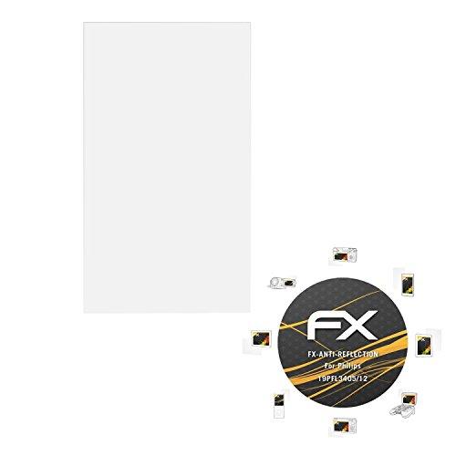 atFoliX Schutzfolie für Philips 19PFL3405/12 Displayschutzfolie - FX-Antireflex blendfreie - Tv Philips 19