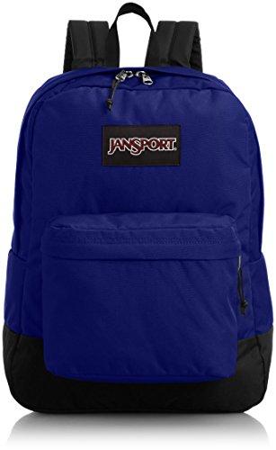 JanSport etiqueta negra Superbreak violeta morado t60g05b