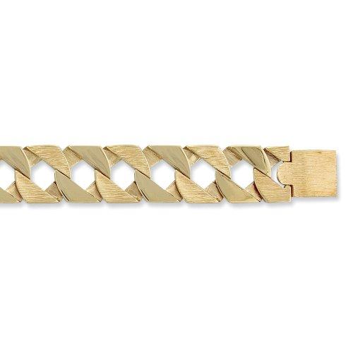 Quadratische Glieder Herren-Armband