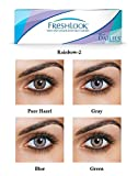 VisionsIndia Freshlook Zero Power Daily Contact and LensCare Kit Pack (Combo of 10)