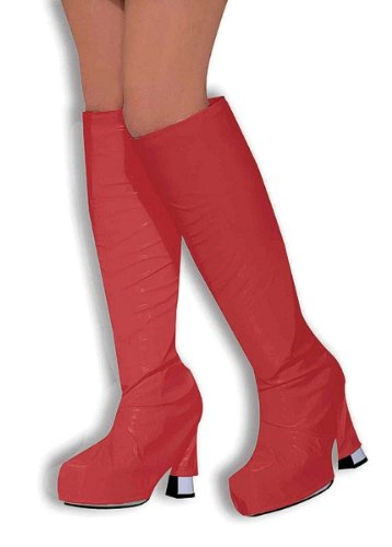 Go Go Boot Tops. Red (Kostüm Girls Spice)