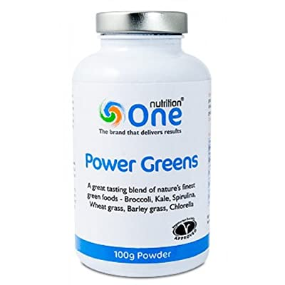 One Nutrition Power Greens 100g powder from One Nutrition