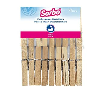 Sorbo Wooden Clothes Pegs