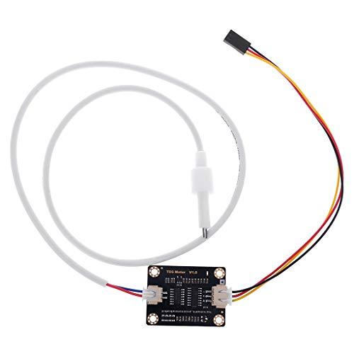 Guangtian Analoger TDS-Sensor Wasserleitfähigkeitssensor Für Arduino Liquid Detection Wasserqualitätsüberwachungsmodul DIY TDS Online Monitor -