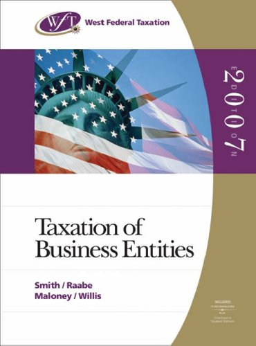 west-federal-taxation-2007-business-entities-with-ria-acess-card-and-turbo-tax-business