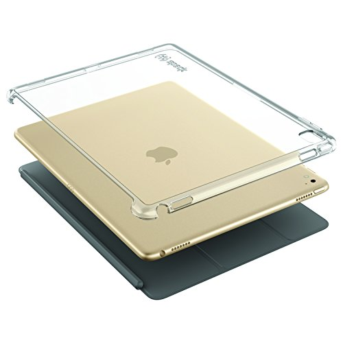 Speck 77644-5085 Smartshell Plus harte Schutzhülle für Apple iPad Pro (24,6 cm (9,7 Zoll))/ iPad Air 2 klar