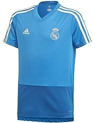 adidas Real TR JSY Y Camiseta, Niños, azuart/azreos/blabas, 152 (11/12 años)