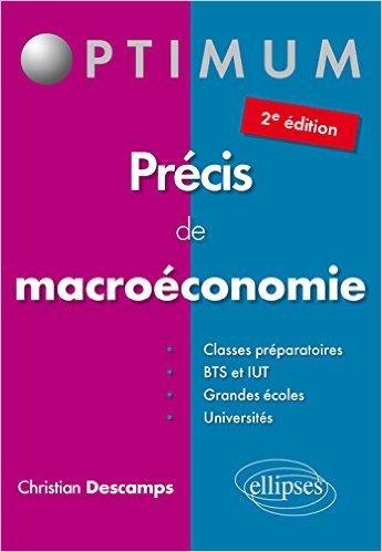 Précis de Macroéconomie de Christian Descamps ( 29 septembre 2015 )