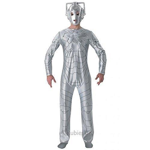 Cyberman Kostüm Kostüm (Doctor Who Cyberman - Adult Costume Men: STD (38-42
