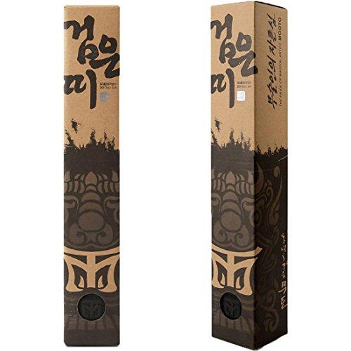 Mooto coreano taekwondo larga cintura 5cm doppio involucro arti marziali judo karate per l'uomo lunghezza 340 cm (11.15ft) nero