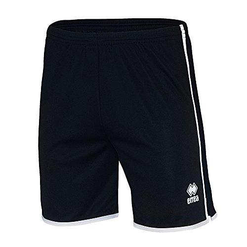 Errea - Pantaloncini Sportivi Girovita Elastico - Uomo Blu navy/Bianco