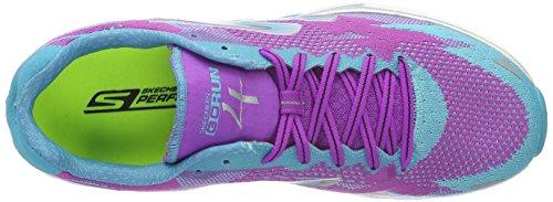 Skechers GO Run 4-2016 - Scarpe Running Donna Viola (PRTL)