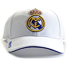 GORRA REAL MADRID PRODUCTO OFICIAL- BLANCA 2017-2018 ADULTOS d84438966f6