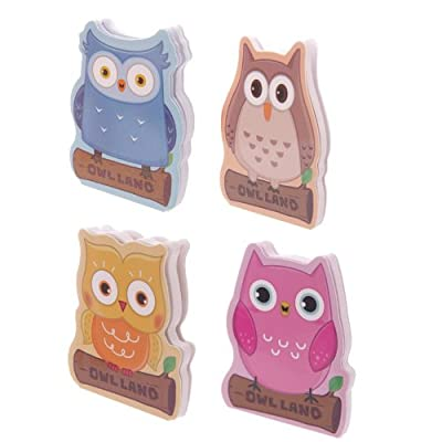 Cute Cartoon Owl Memo Pad