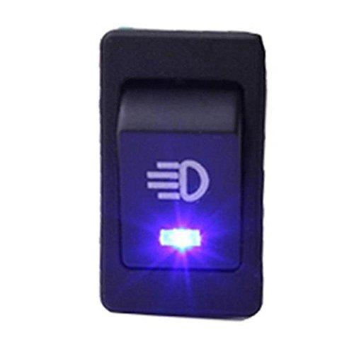 ZHUOTOP Interruptor de luz antiniebla para coche