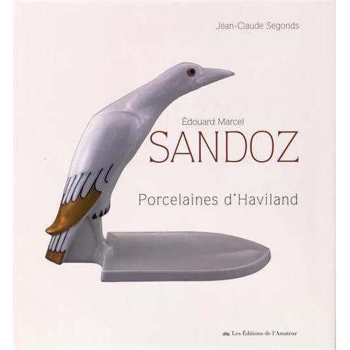 Edouard Marcel Sandoz, les porcelaines d'Haviland
