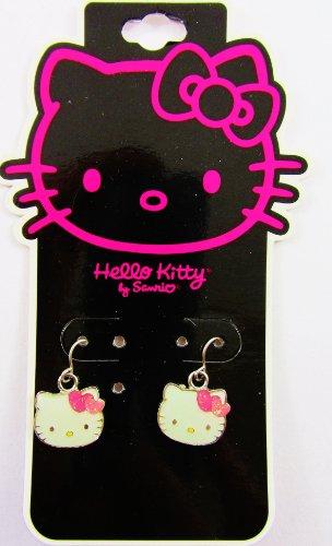 Hello Kitty–Ohrringe (gepiercten -