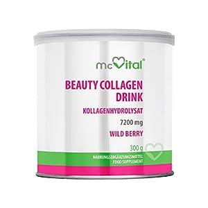 Beauty Collagen Drink – Kollagenhydrolysat – Hautfeuchtigkeit – gegen Linien und Falten – WILD BERRY – 300 g