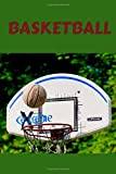 Basketball: This cool Basketball notebook / journal comes in 6x9 with 100 pages wide ruled line paper.