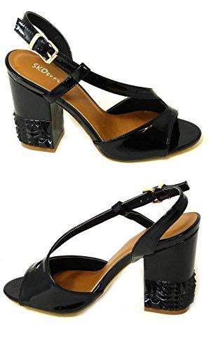 SKO'S , Sandales pour femme Black (26583-10)