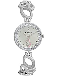 Austere EMMY Analogue Silver Dial Women's Watch (WE-0707)(WE-0707)
