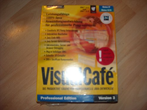 Preisvergleich Produktbild VisualCafe Expert 4.5 Upgrade from Any Java IDE