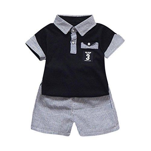 7b27f4419 Ropa Bebe Niños Verano, K-youth® Conjunto Bebe Niño Ropa Bebe Recien ...