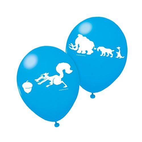 Susy Card 40000329 - Luftballons, Ice Age, 6 Stück (6 Ice Age)