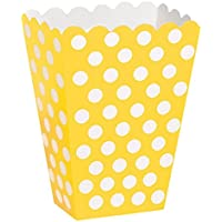 Unique Party Accessory Set Yellow Polka Dot Design
