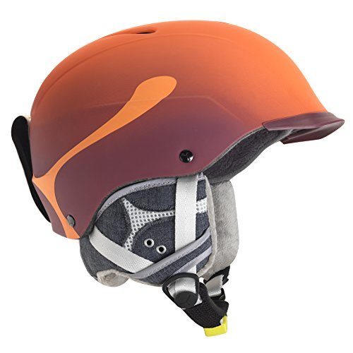 Cébé Skihelm Contest Visor Pro Orange, 62-64 cm -
