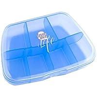 Reise tragbare Kit Dispenser Box tragbare Medizin Box (blau) preisvergleich bei billige-tabletten.eu