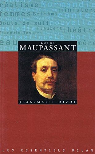 Guy de Maupassant par Jean-Marie Dizol