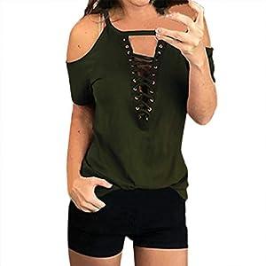 Tosonse T-Shirt Frauen Shirts Mode Lässige Tops Karneval Tunika Einfarbig Blusen Kurzarm Tee O-Ausschnitt
