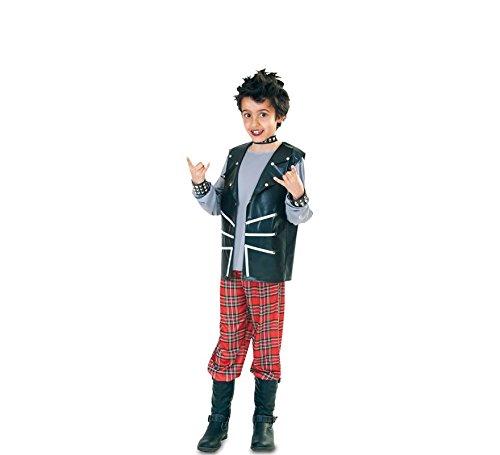 Fyasa 705995-t02Punk Infant Boy Kostüm, Mittel