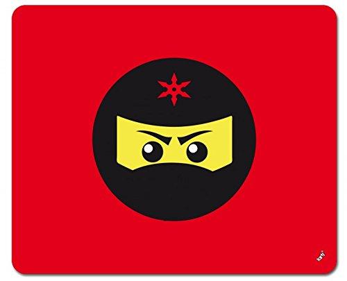 Preisvergleich Produktbild 1art1 109089 Gaming - Ninja Icon, Rot Mauspad 23 x 19 cm