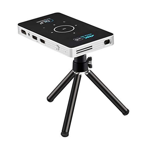 JIANGNAN Proiettore DLP Ultra Corto proiettore proiettore Micro-investimento Tecnologia Wireless Schermo del Telefono Mobile 16G proiettore Macchina