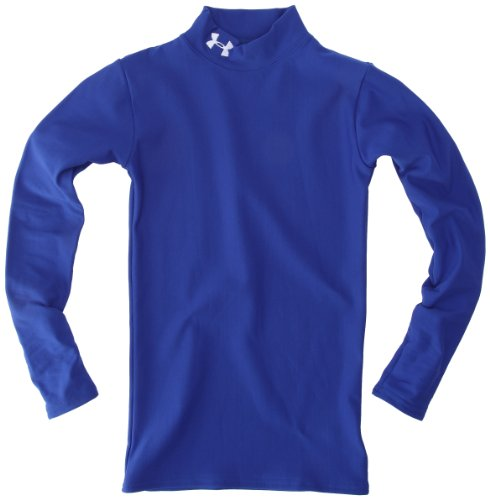 Under Armour UA CG Compression Mock Top de compression garçon Bleu Royal S d47ba3be054