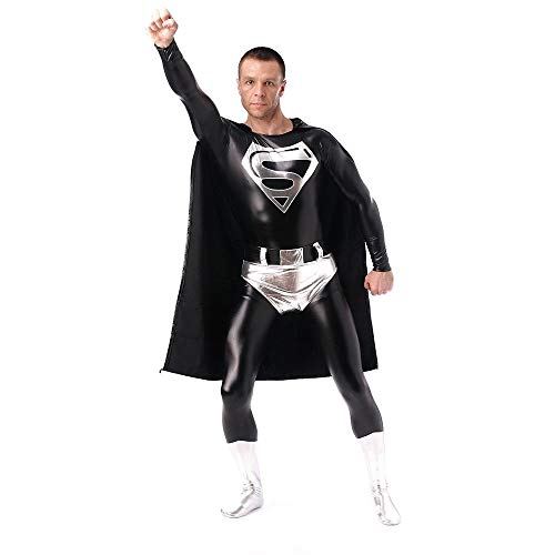 Cosplay Halloween Anime Kostüm Superman Adult Superman All-Inclusive Strumpfhose S (Superman Kostüm Ändern)