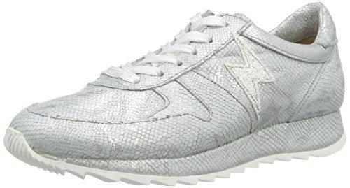 Mjus 878104-0401, Sneaker Basse Donna Silber (Argento/Argento/Argento/Argento/Bianco)