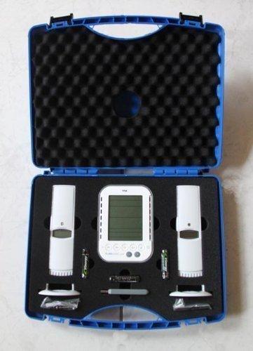 Wetterladen Klimalogg Koffer Set Datenlogger KlimaloggPro inklusive 2 Funksender, 95 x 135 x 25 mm