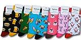 TwoSocks Damen & Herren Pizza Socken Gr. 36-46 trendy Strumpf - witziges Geschenk - bunt & lustig Socks Baumwolle
